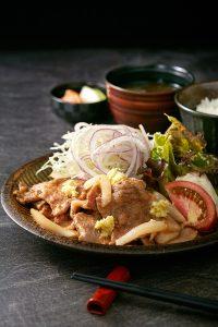 美明豚の生姜焼き